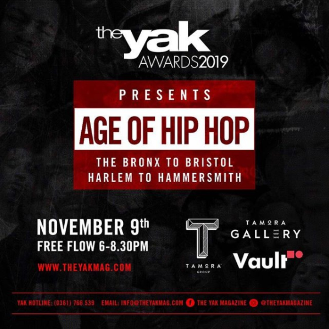 Tamora Gallery The Yak Awards 2019