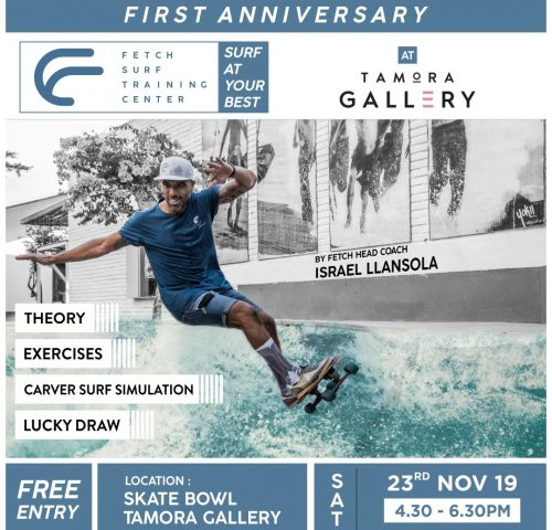 Tamora Gallery Surf Clinic FETCH SURF