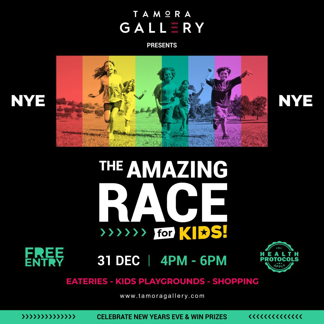 Tamora Gallery Amazing Race For Kids NYE
