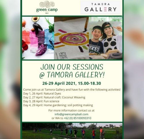 Tamora Gallery Green Camp