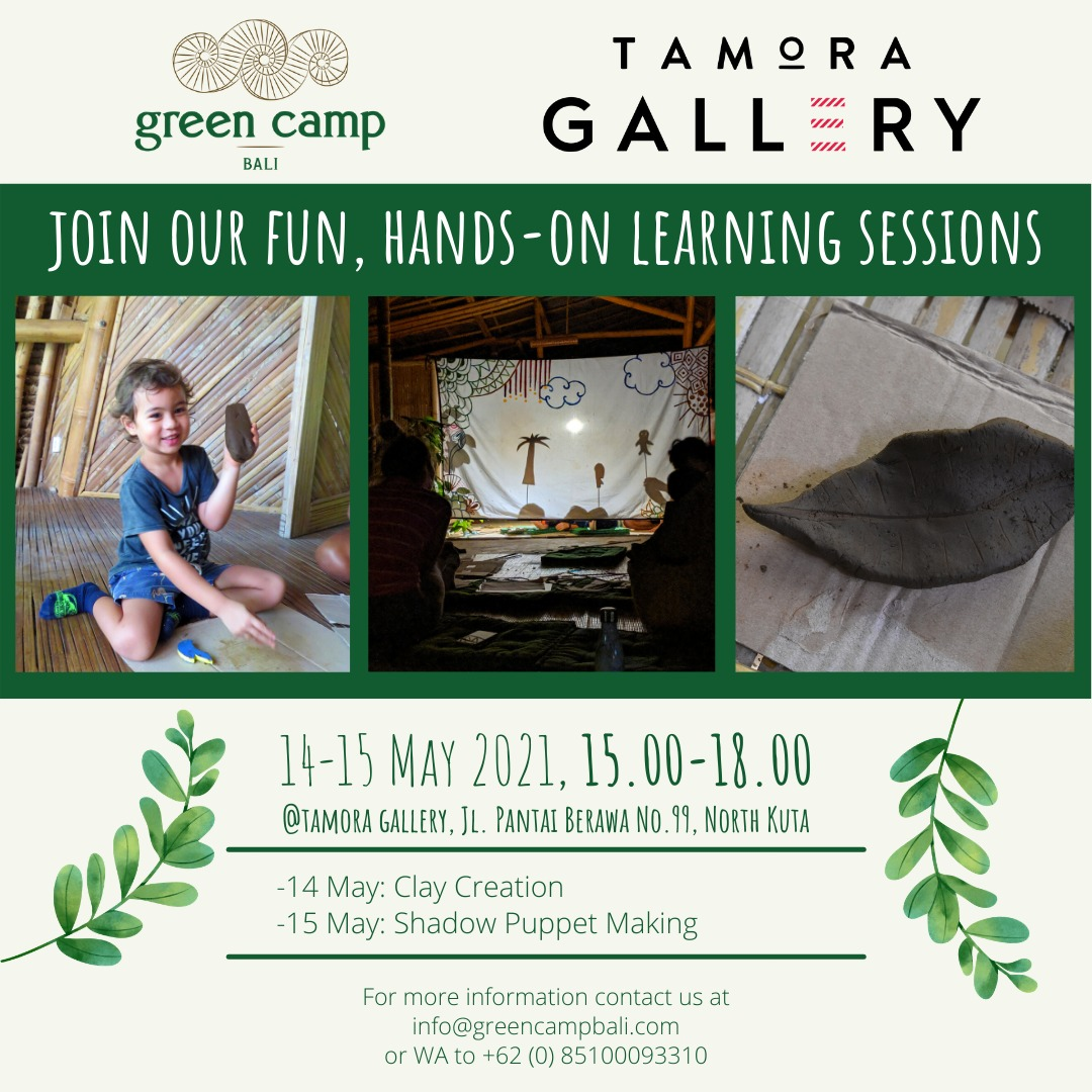 Tamora Gallery Green Camp Promo