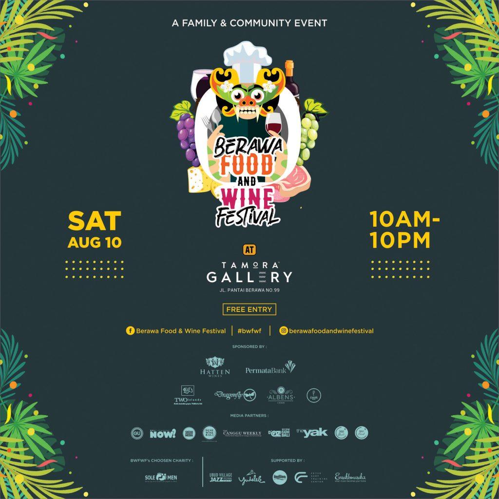 Berawa Food & Wine Festival BWFWF 2019