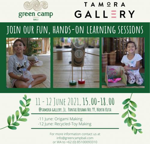 Tamora Gallery Green Camp Promo