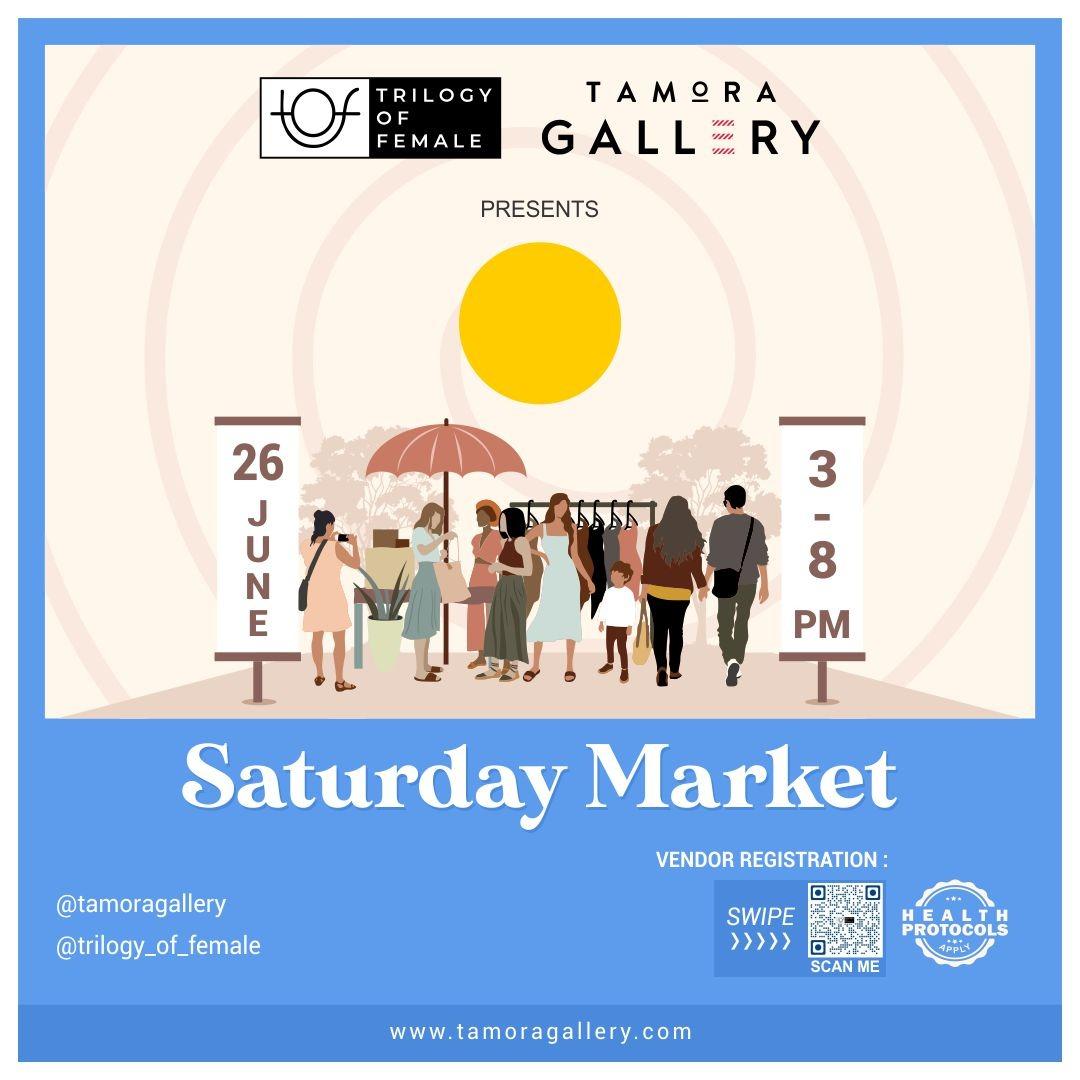 Tamora Gallery Saturday Market