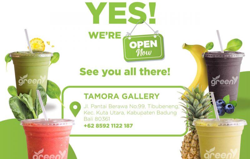 Tamora Gallery Green Juice Bars